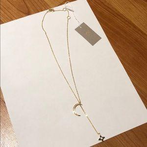 Rachel Zoe x Lili Claspe Lariat Necklace